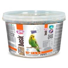 LO-72161 Корм для волнистых попугаев полнорационный. Ведро