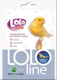 LO-72543(Lololine) -дополнительная кормовая смесь для канареек Омега-3.