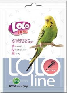 """LO-72141 (Lololine) - дополнительная кормовая смесь для волнистых попугаев """"Чик-чирик""""."""