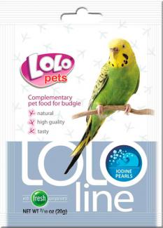 """LO-72143 Дополнительная кормовая смесь для попугаев """"Йодовые жемчужины"""""""