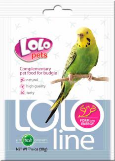"""LO- 72146  Дополнительная кормовая смесь для попугаев""""Форма и энергия"""""""
