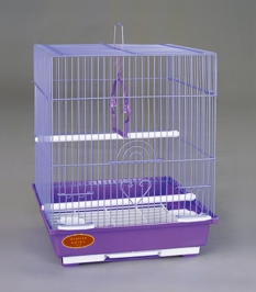 """A105 Клетка для птиц, размер 30х23х39 см., """"эмаль"""""""